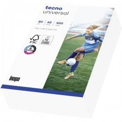 Inapa Tecno Universal 2100011541 Carta universale per stampanti DIN A5 80 g/m² 500 Foglio Bianco