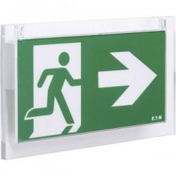CEAG 40071354594 Indicazione via di fuga illuminata a LED Montaggio a soffitto, Montaggio a parete verso lalto, verso