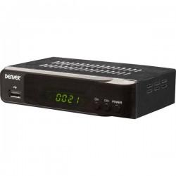 Denver DVBS-206HD Ricevitore satellitare HD USB anteriore Numero di sintonizzatori: 1
