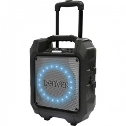 Denver TSP-305 Altoparlante portatile PA 16.5 cm 6.5 pollici a batteria ricaricabile 1 pz.