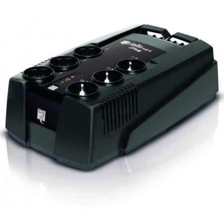 Riello Ups Iplug Ipg800IT 800va Gruppo di Continuità Antracite Nero