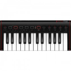 IK Multimedia iRig Keys 2 Mini Tastiera MIDI Nero tasti illuminati, Mini tasti