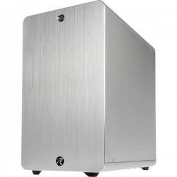 Raijintek THETIS Midi-Tower PC Case Argento 1 ventola LED pre-montata, filtro per la polvere