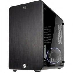 Raijintek THETIS Midi-Tower PC Case Nero 1 ventola LED pre-montata, finestra laterale, filtro per la polvere