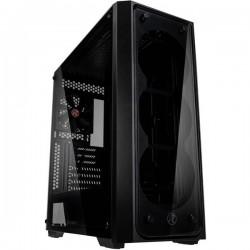 Raijintek 0R20B00153 Midi-Tower PC Case da gioco, Contenitore Nero