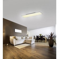 LeuchtenDirekt Flat 14533-16 Pannello LED 41 W Bianco caldo, Bianco neutro, Bianco luce del giorno Bianco