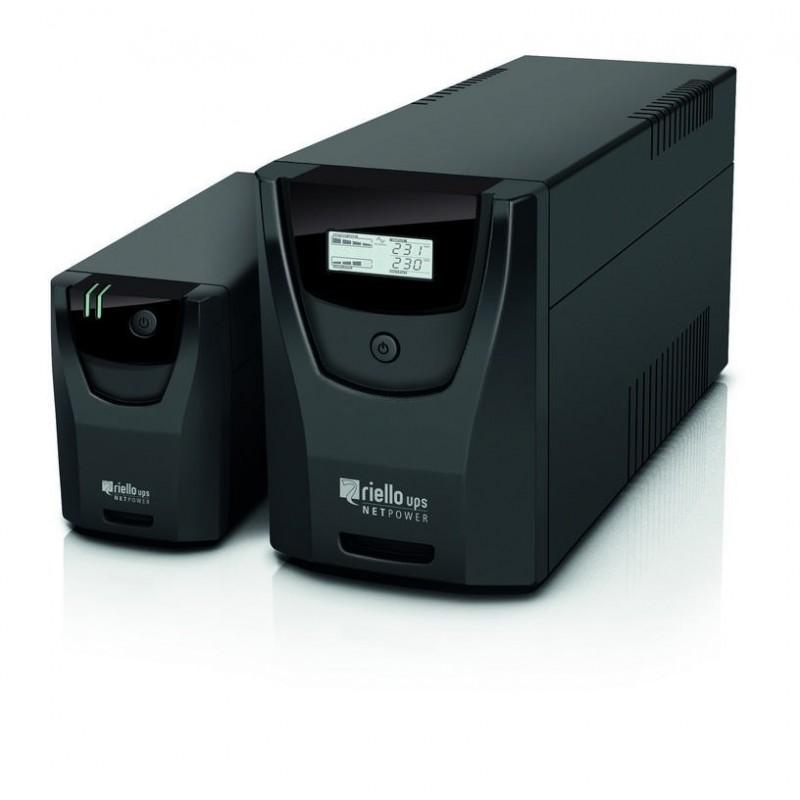 Gruppo di continuità Riello Ups Net Power 800va, colore nero, Npw.