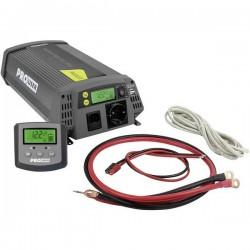ProUser Inverter Sinus PSI1000TX 1000 W 12 V/DC - 230 V/AC, 5 V/DC incl. Telecomando