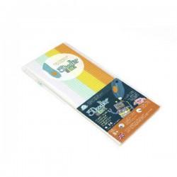 3Doodler 3DS-ECO-MIX1-24 Fire & Ice KIT Filamenti stampante 3D Elastico 1.75 mm 27 g Bianco, Menta, Giallo, Arancione 24
