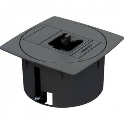 IB Connect 46100002/3 1 pezzo Contenitore vuoto per incasso a pavimento Grigio