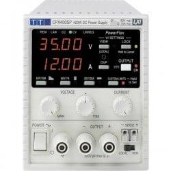 Aim TTi CPX400SP Alimentatore da laboratorio regolabile 0 - 60 V/DC 0 - 20 A 420 W GPIB, LAN, LXI, RS-232, USB Num.