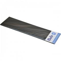 3Doodler AB01-BBB Black Belt KIT Filamenti stampante 3D Plastica ABS 1.75 mm 63 g Nero 25 pz.