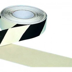 B-SAFETY AR226050 Rivestimento antiscivolo a lunga illuminazione Nero, Bianco (L x L) 18.3 m x 50 mm