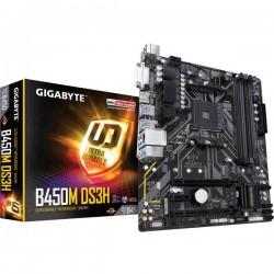 Gigabyte B450M DS3H Mainboard Attacco AMD AM4 Fattore di forma Micro-ATX Chipset della scheda madre AMD® B450