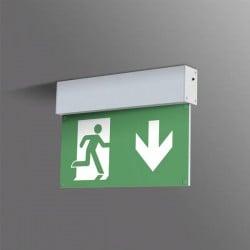 B-SAFETY BR 559 030 Indicazione via di fuga illuminata Montaggio a soffitto