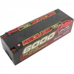Gens ace Batteria ricaricabile LiPo 15.2 V 6000 mAh Numero di celle: 4 130 C Hardcase