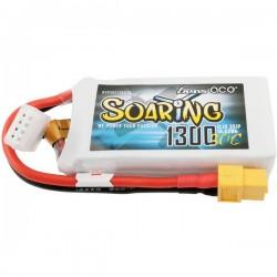 Gens ace Batteria ricaricabile LiPo 11.1 V 1300 mAh Numero di celle: 3 30 C Softcase XT60