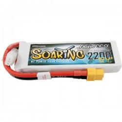 Gens ace Batteria ricaricabile LiPo 7.4 V 2200 mAh Numero di celle: 2 30 C Softcase XT60