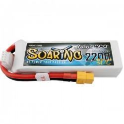 Gens ace Batteria ricaricabile LiPo 11.1 V 2200 mAh Numero di celle: 3 30 C Softcase XT60