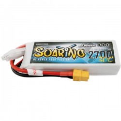 Gens ace Batteria ricaricabile LiPo 11.1 V 2700 mAh Numero di celle: 3 30 C Softcase XT60