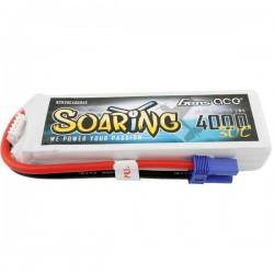 Gens ace Batteria ricaricabile LiPo 14.8 V 4000 mAh Numero di celle: 4 30 C Softcase EC5