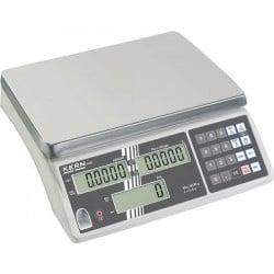 Kern Bilancia contapezzi Portata max. 6 kg Risoluzione 0.5 g rete elettrica, a batteria ricaricabile Argento