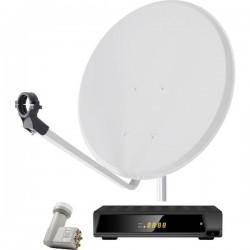 Smart DA1-80QSE Sistema SAT con ricevitore 80 cm