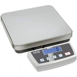Kern DE 12K1A Bilancia pesa pacchi Portata max. 12 kg Risoluzione 1 g rete elettrica, a batteria Argento