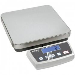Kern DE 35K5D Bilancia pesa pacchi Portata max. 35 kg Risoluzione 5 g, 10 g rete elettrica, a batteria Argento