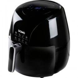 DOMO DO533FR Friggitrice ad aria calda 2000 W Custodia Cool-Touch, Protezione da surriscaldamento, Rivestimento
