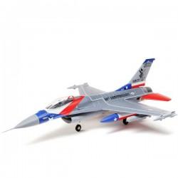 E-flite F-16 Falcon 64mm EDF PNP Argento Aeromodello Jet PNP