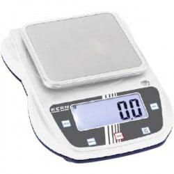 Kern EHA 1000-1 Bilancia di precisione Portata max. 1 kg Risoluzione 0.1 g a batteria, via alimentatore a spina