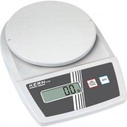 Kern EMB 600-2 Bilancia per lettere Portata max. 0.6 kg Risoluzione 0.01 g a batteria, rete elettrica (opzionale)