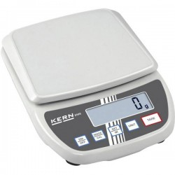 Kern EMS 12K1 Bilancia per lettere Portata max. 12 kg Risoluzione 1 g rete elettrica, a batteria Bianco