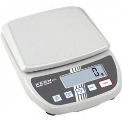 Kern EMS 6K0.1 Bilancia da tavolo Portata max. 6 kg Risoluzione 0.1 g rete elettrica, a batteria Bianco
