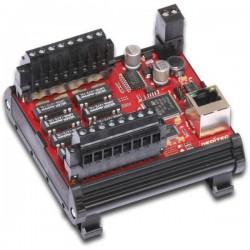 Deditec ETH-RELAIS-8 Modulo uscite Ethernet Numero di uscite digitali: 8 Numero di ingressi digitali: 0 Numero uscite