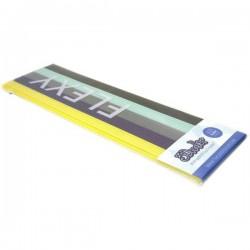 3Doodler FLX-MIX1 Retro Flexy KIT Filamenti stampante 3D Plastica PLA, Filamento flessibile flessibile 3 mm 71 g Giallo,