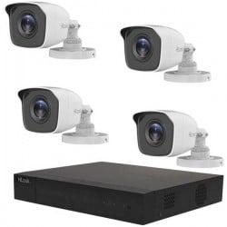 HiLook TK-4144BH-MM hl144b Analogico, AHD, HD-CVI, HD-TVI Kit videocamere sorveglianza 4 canali con 4 camere 2.560 x