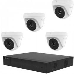 HiLook TK-4144TH-MH hl144t Analogico, AHD, HD-CVI, HD-TVI Kit videocamere sorveglianza 4 canali con 4 camere 2560 x 1440