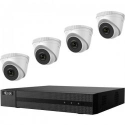 HiLook IK-4142TH-MH/P hl414t LAN IP-Kit videocamere sorveglianza4 canalicon 4 camere1920 x 1080 Pixel