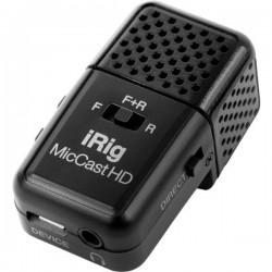 IK Multimedia iRig Mic Cast HD a clip Lavalier Microfono portatile Tipo di trasmissione:Cablato incl. cavo
