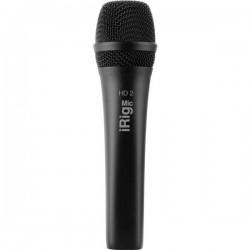 IK Multimedia iRig Mic HD 2 Microfono portatile Tipo di trasmissione:Cablato incl. cavo, incl. borsello, incl. stativo