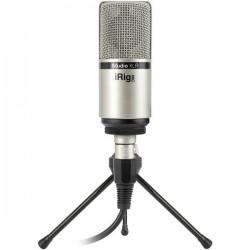 IK Multimedia iRig Mic Studio XLR Microfono da studio Tipo di trasmissione:Cablato incl. cavo, incl. morsetto, incl.