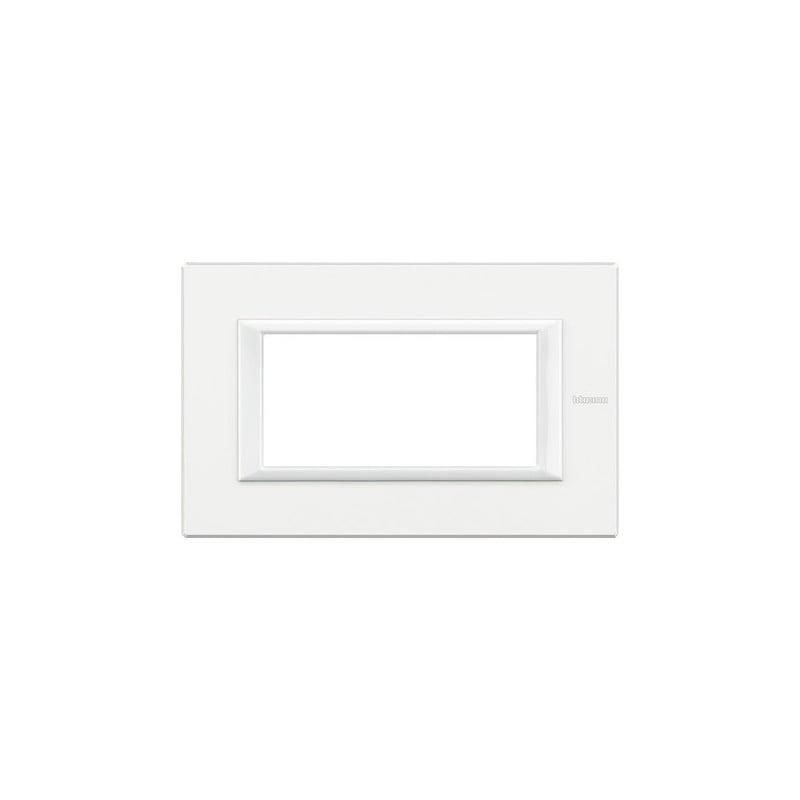 Bticino Axolute Bianchi, Placche colorate in bianco, codice HA4804HD, 4 moduli, Offerte e Prezzi Vendita Online.