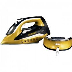 MediaShop Phoenix Gold® Free Flight Ferro da stiro a vapore Oro, Nero 2400 W
