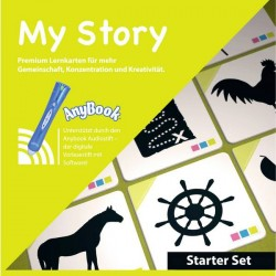 Anybook Reader Bundle Franklin My Story Bundle M730 Tedesco, Inglese 1 KIT