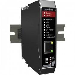 Deditec NET-CPU-PRO-CS NET-CPU-PRO-CS Modulo multifunzione CAN Bus, USB, Ethernet, RS-232, RS-485 Numero di ingressi: 0