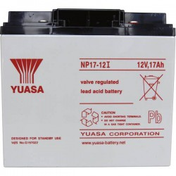 Yuasa NP17-12 NP17-12 Batteria al piombo 12 V 17 Ah Piombo-AGM (L x A x P) 181 x 167 x 76 mm Vite M5 Esente da