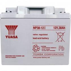 Yuasa NP38-12 NP38-12 Batteria al piombo 12 V 38 Ah Piombo-AGM (L x A x P) 197 x 170 x 165 mm Vite M5 Esente da