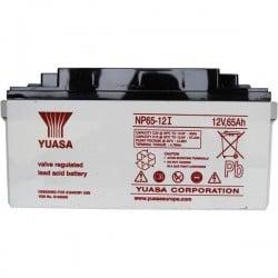 Yuasa NP65-12 NP65-12 Batteria al piombo 12 V 65 Ah Piombo-AGM (L x A x P) 350 x 174 x 166 mm Vite M6 Esente da